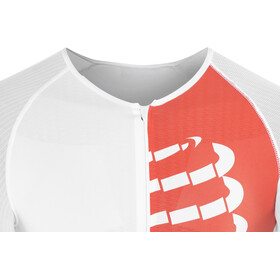 Compressport Triathlon Postural Aero T-shirt Homme, white